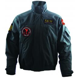 Veste Softshell homme noir, Réplique de la veste des pilotes de l'Armée Suisse
