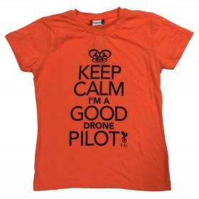 FAI T-shirt Homme Orange