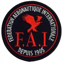 FAI Badge Schwarz (1)