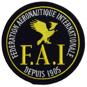 FAI Badge Black (2)