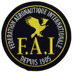 FAI Badge noir (2)