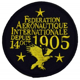 FAI Badge Black (3)