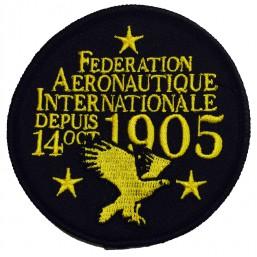 FAI Badge noir (3)