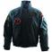 Veste Soft Shell homme noir, Réplique de la veste des pilotes de l'Armée Suisse