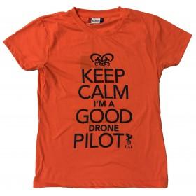 FAI T-shirt Femme Orange