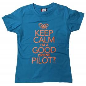 FAI T-shirt Femme Turquoise