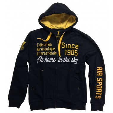 Hoodies FAI unisex dark blue