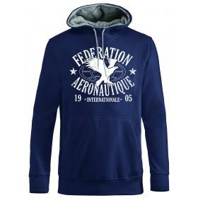 FAI sweatshirt bleu foncé