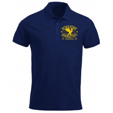 Polo FAI Men blue