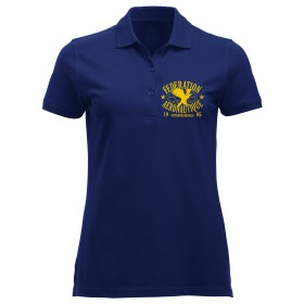 FAI Polo Women Navy Blue