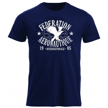 T-shirt FAI Men Blue