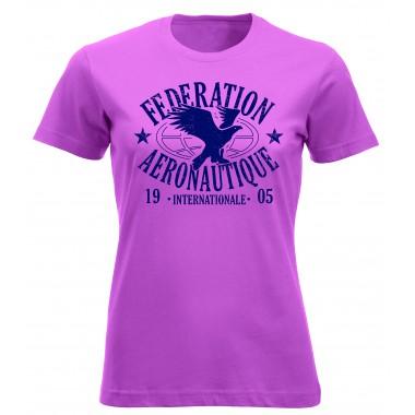 T-shirt FAI femme rose
