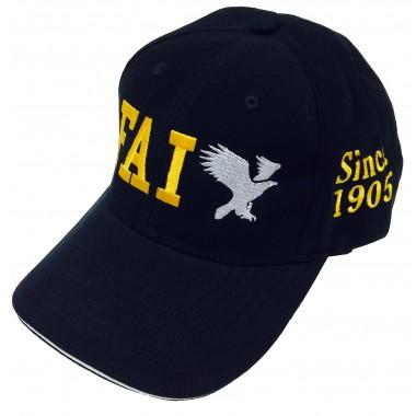 Caps FAI blue