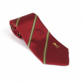 FAI Official Tie Red Silk