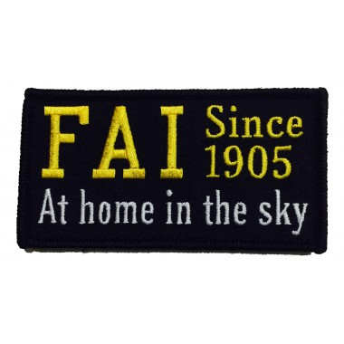 Badge FAI - At home in the sky